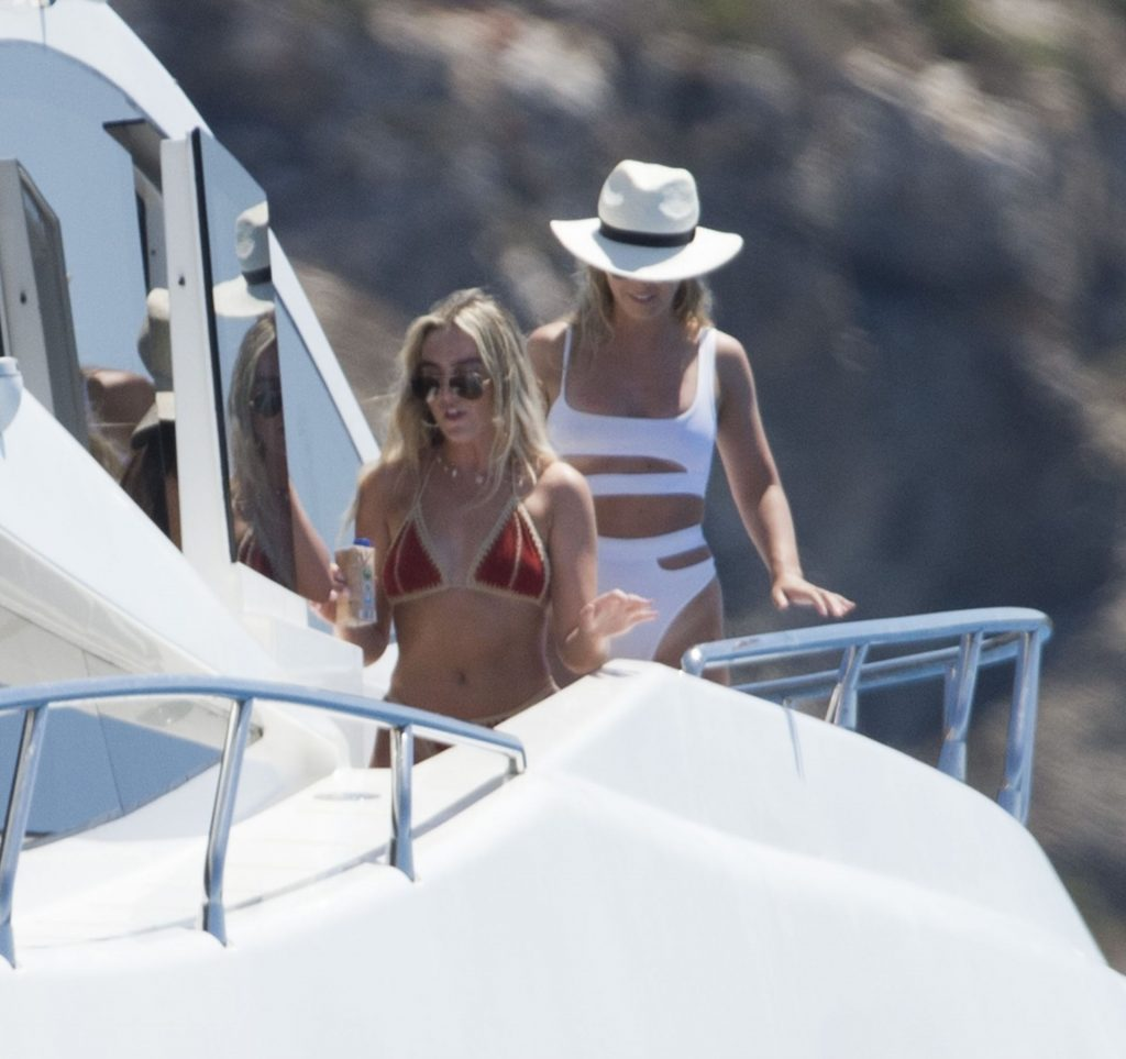 Perrie Edwards & Alex Oxlade-Chamberlain Enjoy a Day with Friends While on Holiday in Ibiza (125 Photos)