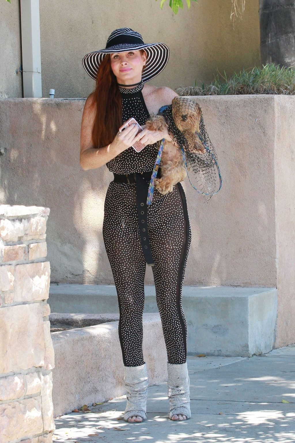 Phoebe Price Shows Off Her Boobs and Butt in a See Through Outfit (44 Photos)