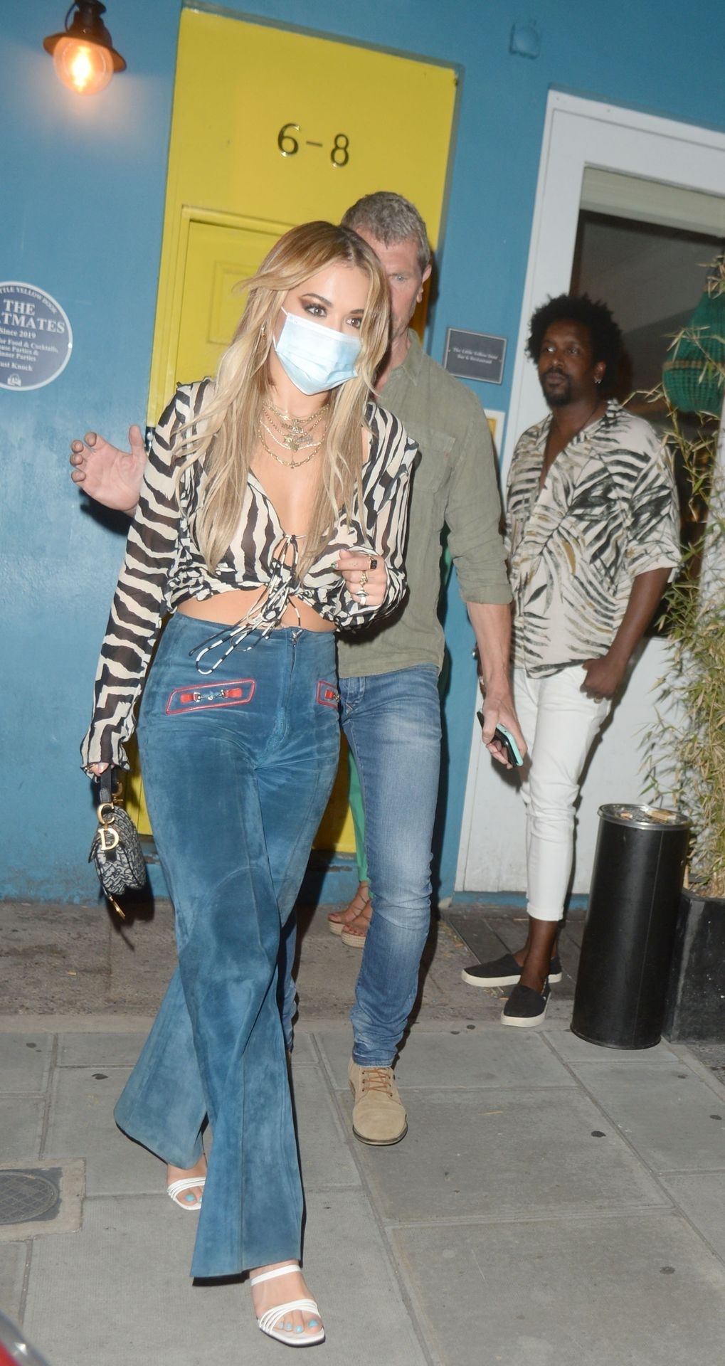 Rita Ora Shows Off Her Tits in London (22 Photos)