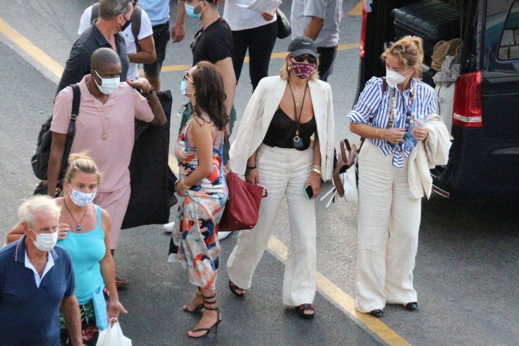 Rita Ora is Pictured Braless in Capri (26 Slightly Nude Photos)