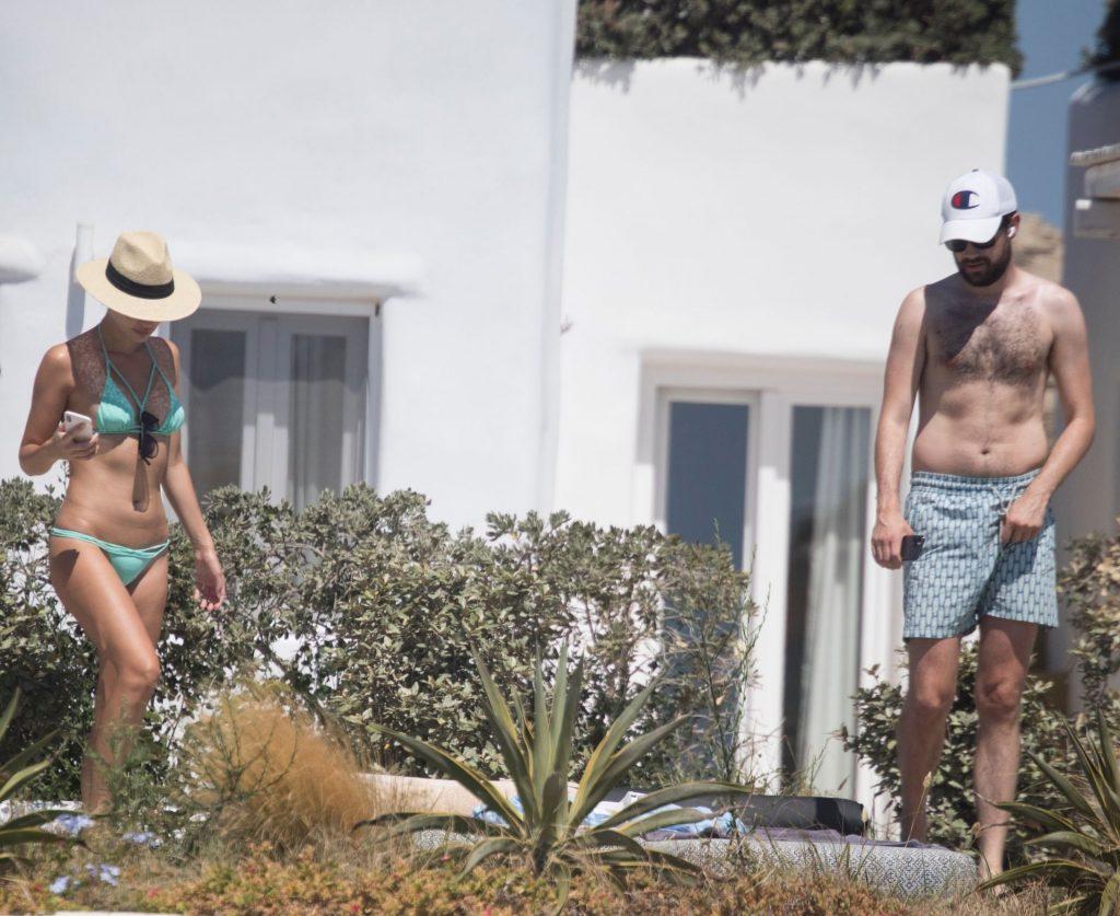 Jack Whitehall & Roxy Horner Take Their New Love to Greece (13 Photos)