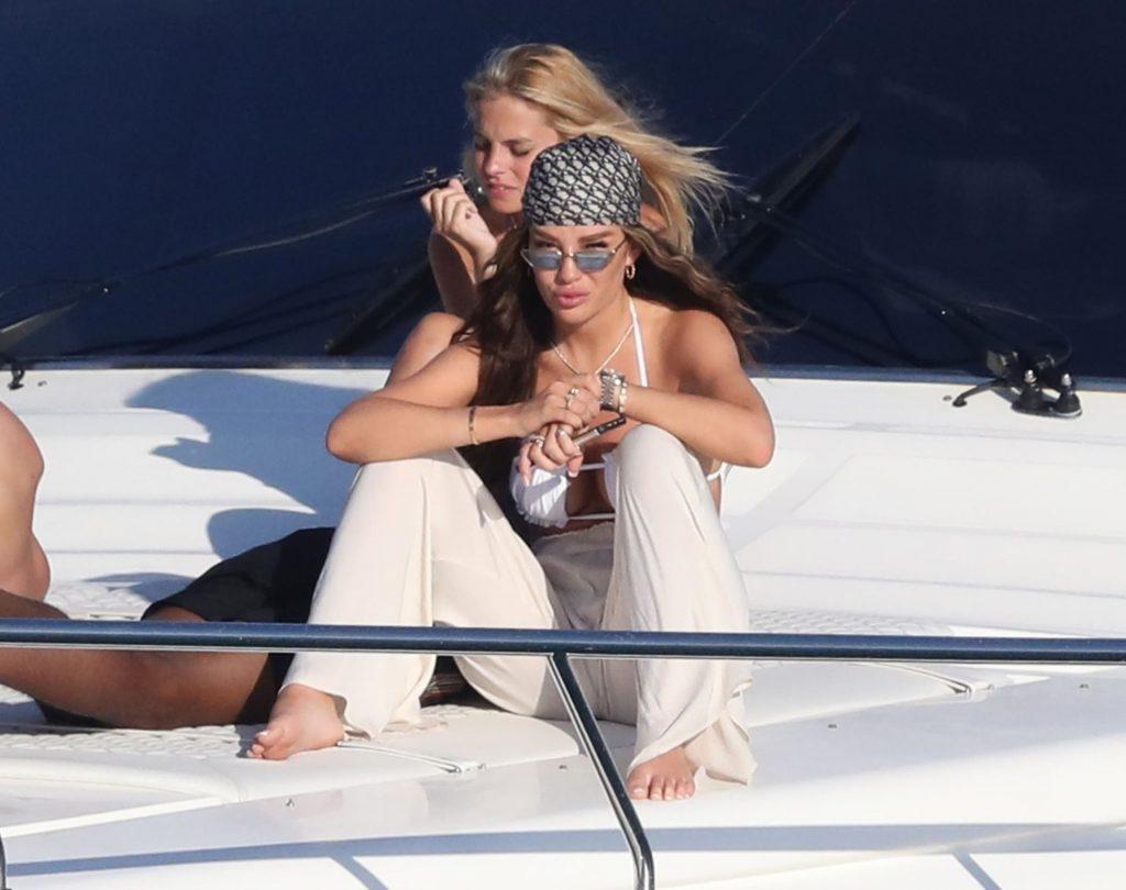 Dele Alli & Ruby Mae Soak Up the Greek Sunshine (43 Photos)
