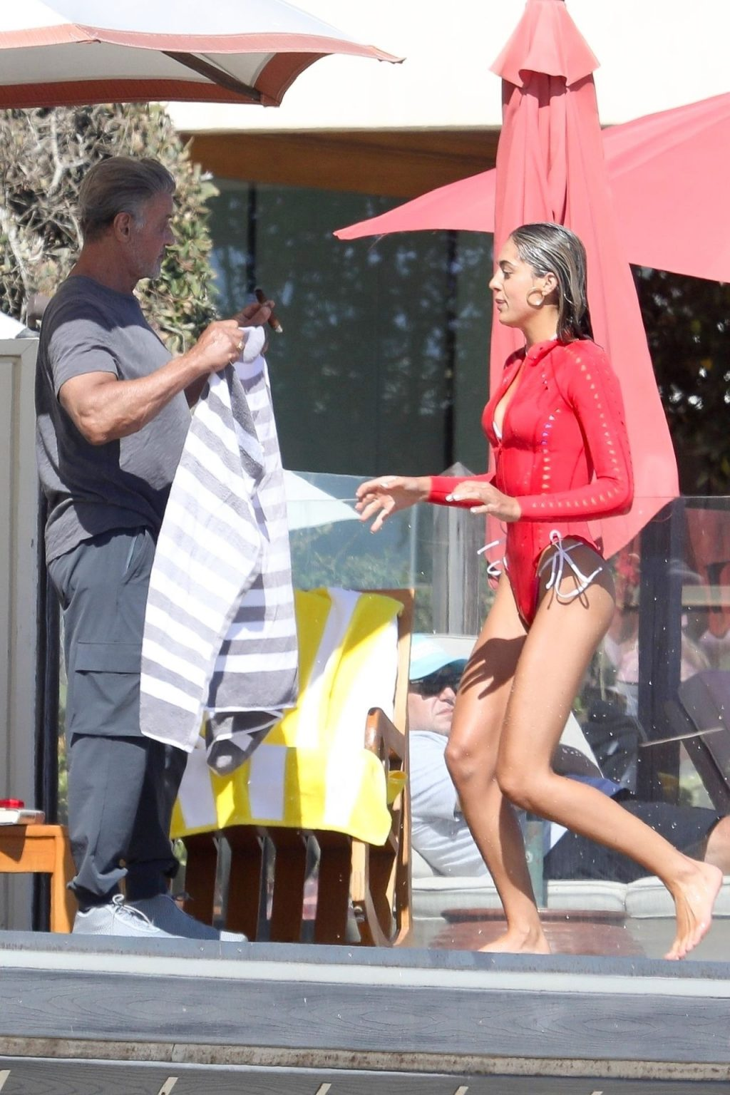 Sistine Stallone Enjoys a Day with Her Family (57 Photos)