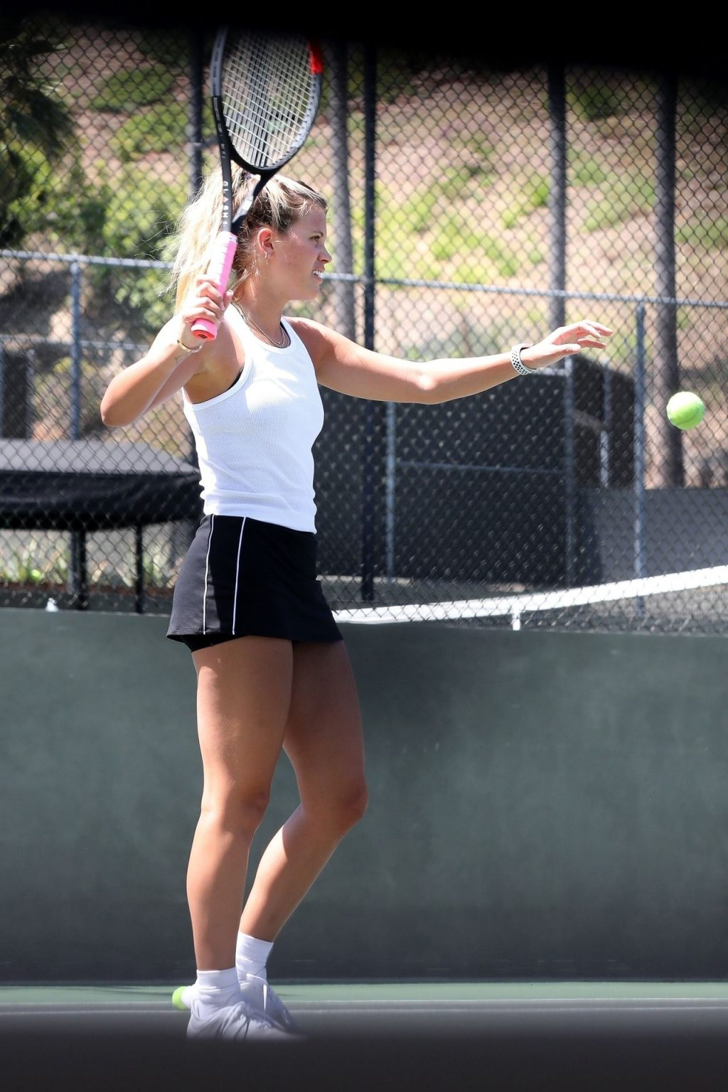 Sofia Richie Showcases Her Sporting Style During a Game of Tennis with Friends (20 Photos)