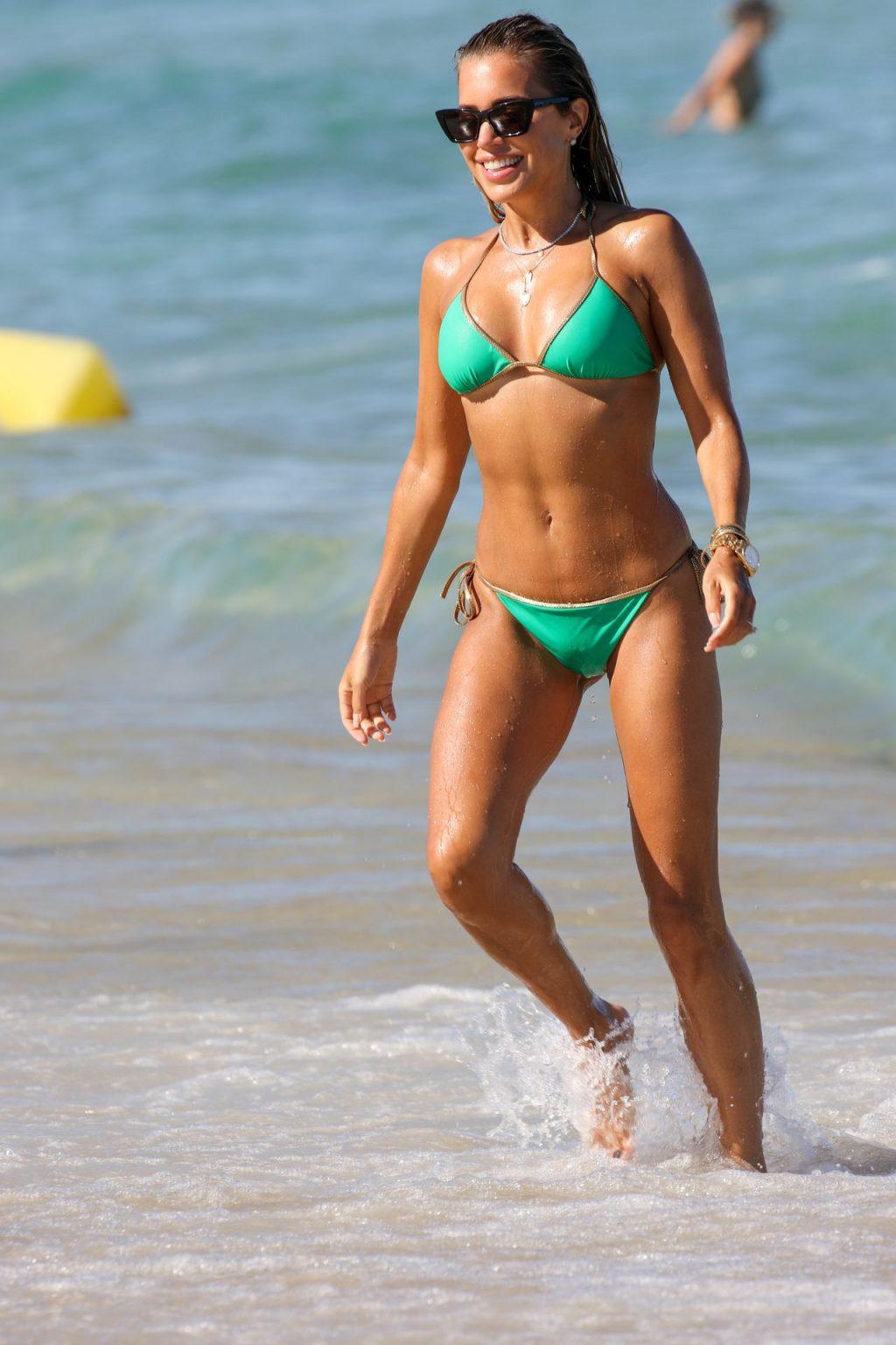 Sylvie Meis & Niclas Castello Enjoy a Beach Day in Saint Tropez (48 Photos)