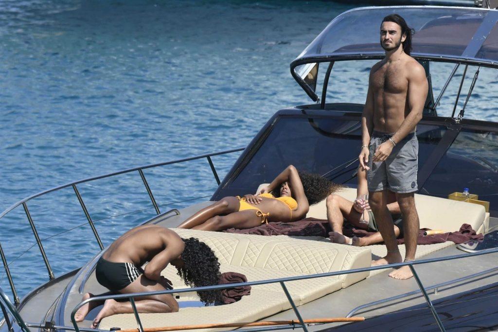 Sexy Tina Kunakey Enjoys Her Vacation in Greece (80 Photos)