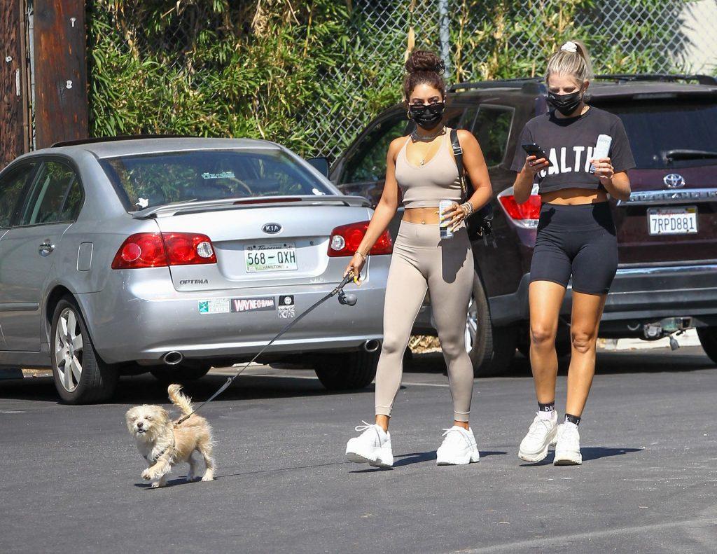 Sexy Vanessa Hudgens Walks Her Dog in LA (45 Photos)