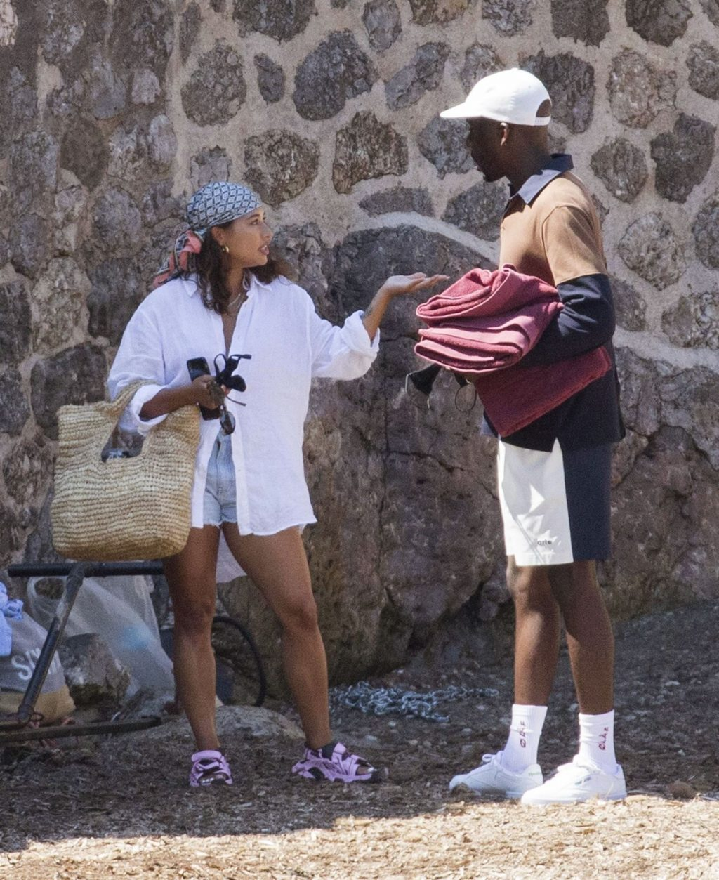 Vanessa White Sizzles Out in the Spanish Sunshine with a Mystery Man (77 Photos)