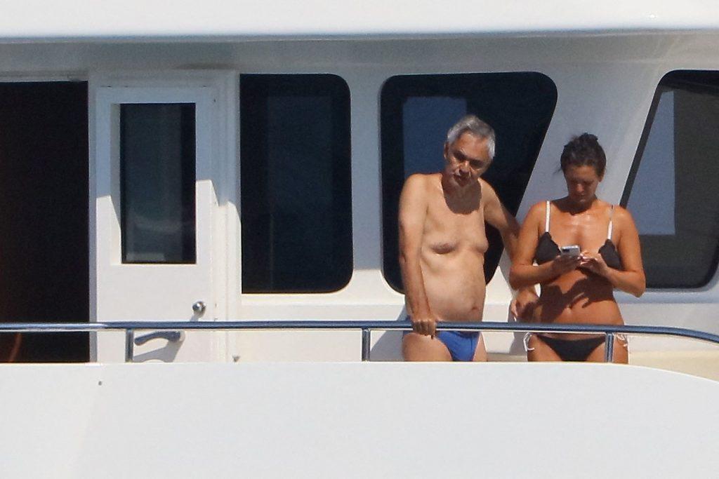 Andrea Bocelli & Veronica Berti Enjoy Their Holiday in St Tropez (19 Photos)
