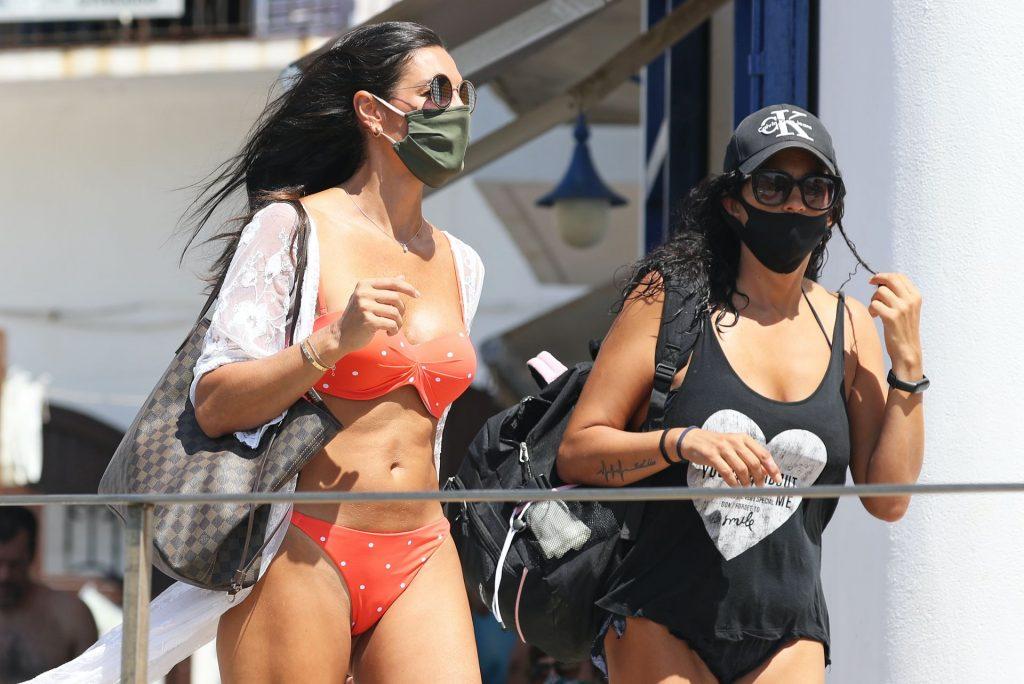Veronica Hidalgo Poses in a Bikini in Costa Brava (25 Photos)