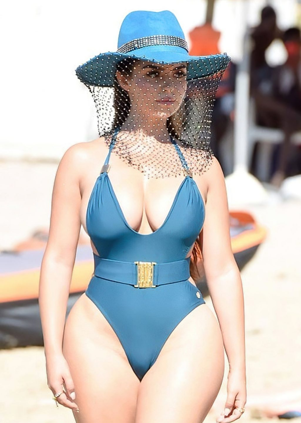 Demi Rose Shows Off Her Curves in Ibiza (11 Photos)