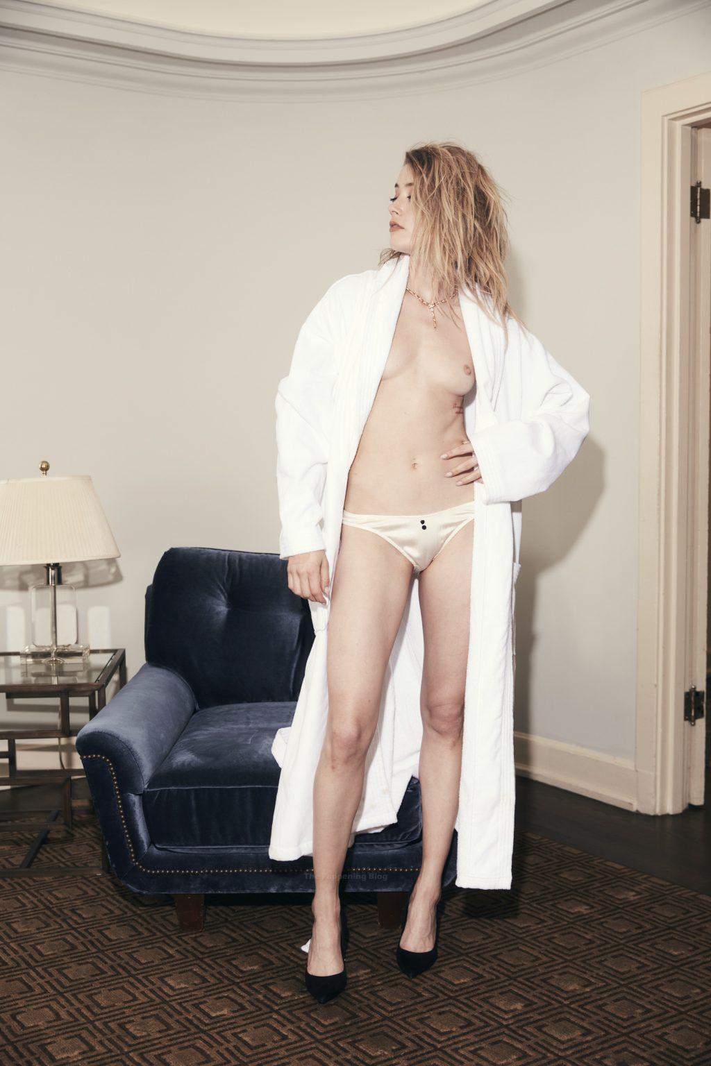 Amber Heard Nude – GQ (9 Photos)