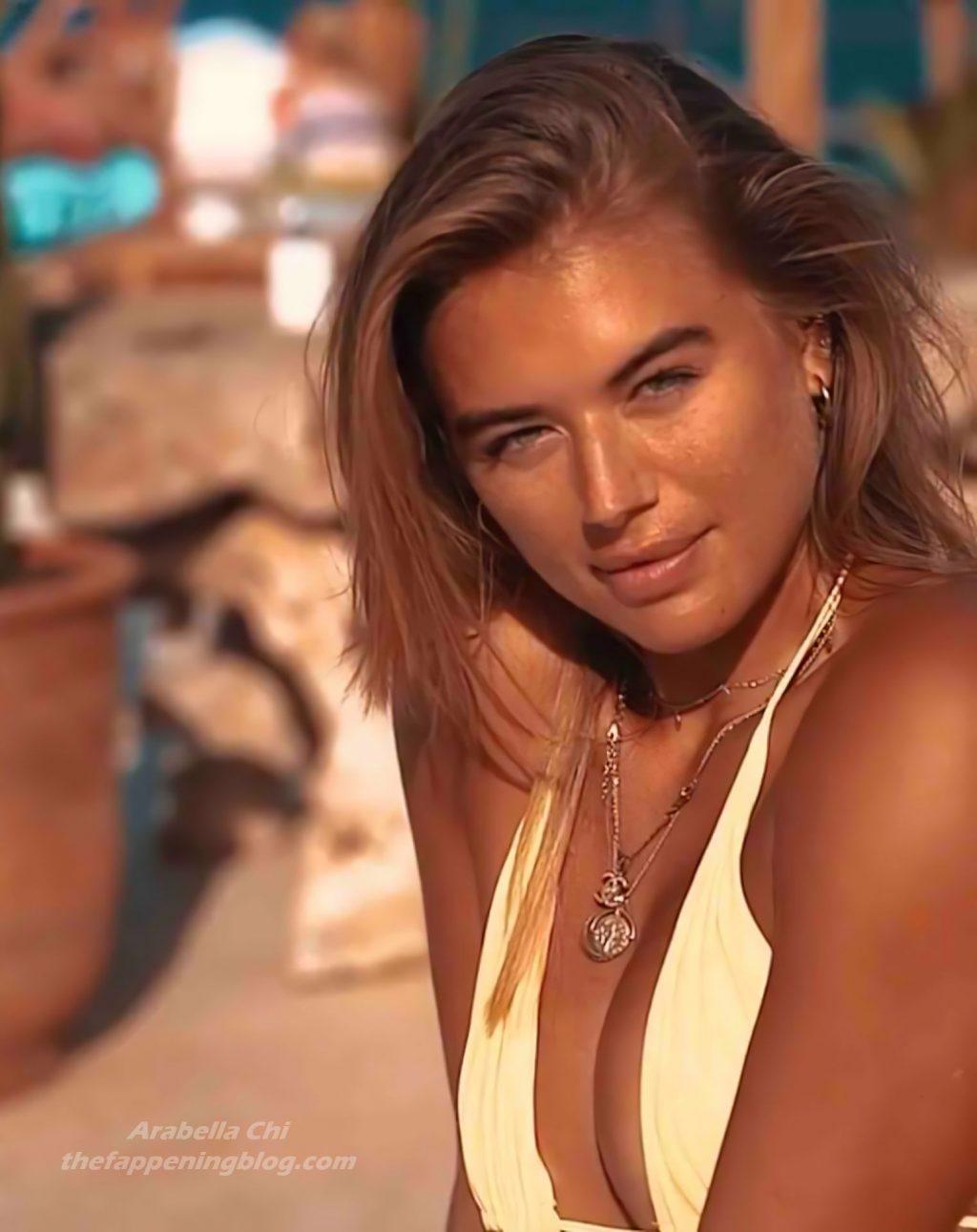 Tittyless Arabella Chi Shows Off Her Sexy Bikini Body (14 Pics + Video)