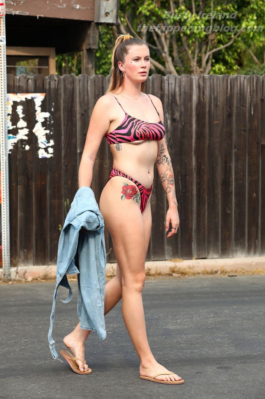 Busty Ireland Baldwin is Pictured in Malibu (3 Photos)