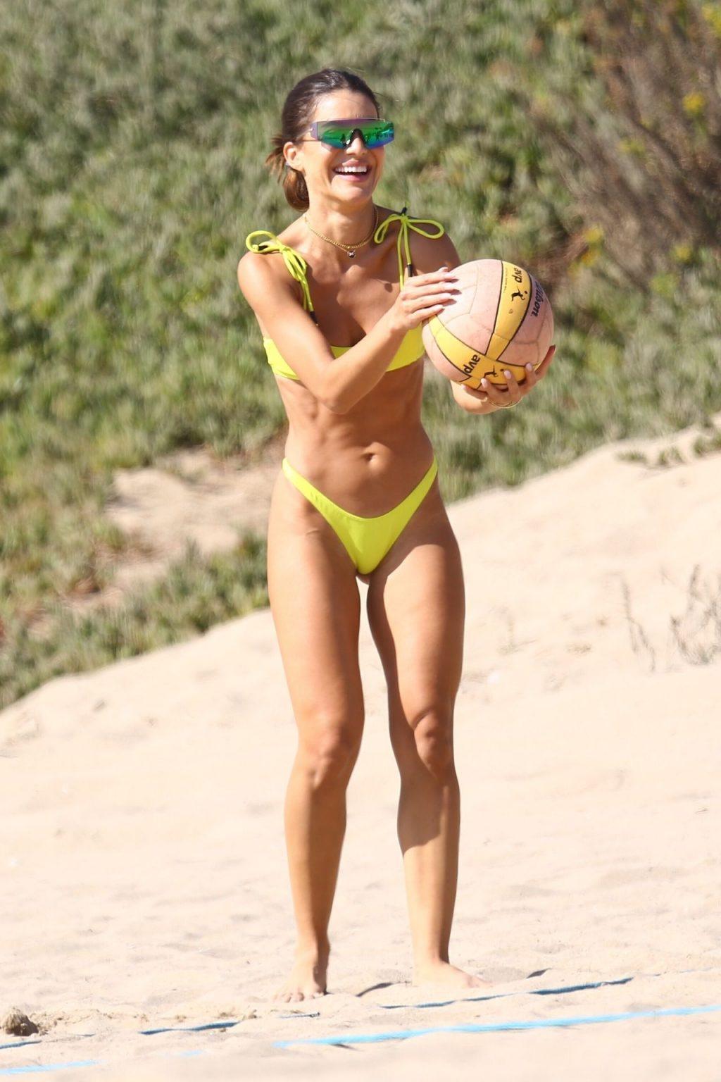 Camila Coelho Stuns in Yellow Bikini (87 Photos)