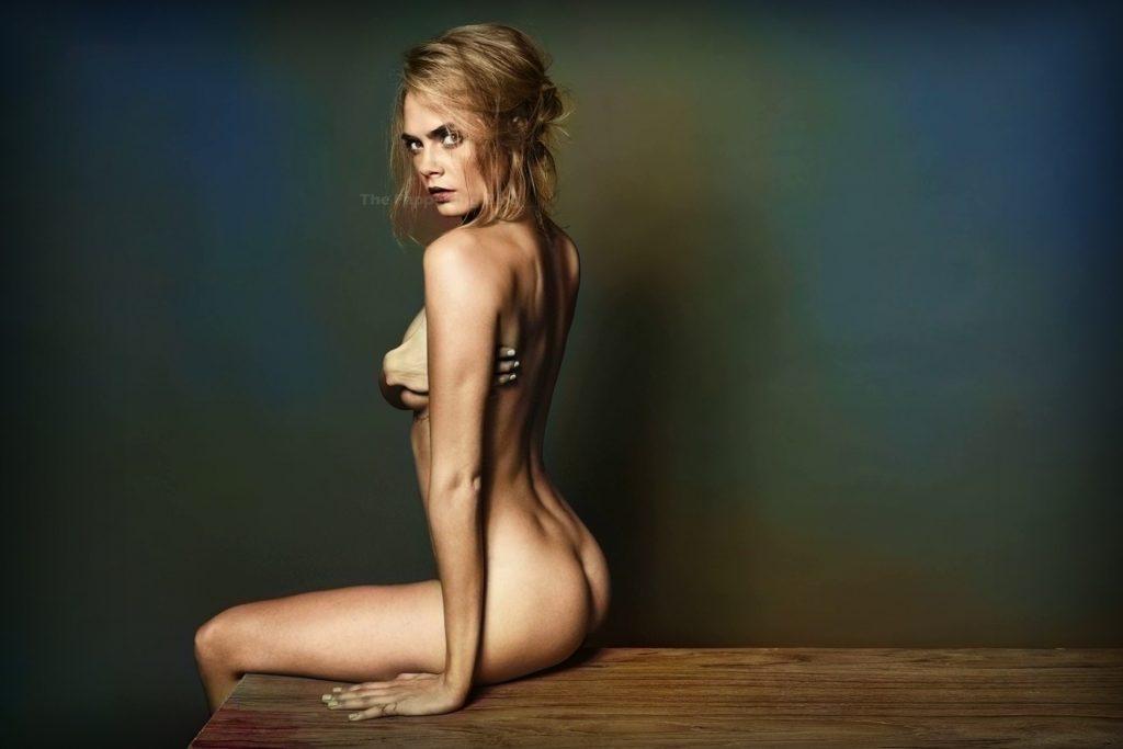 Cara Delevingne Nude – Esquire (4 Photos)