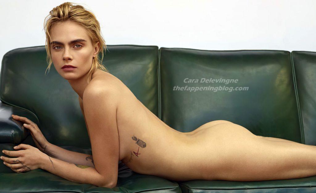 Cara Delevingne Nude – Marie Claire (1 Photo)