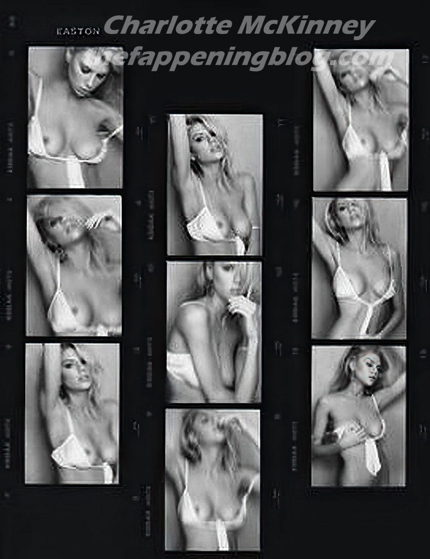 Charlotte McKinney Nude (4 Hot Photos)