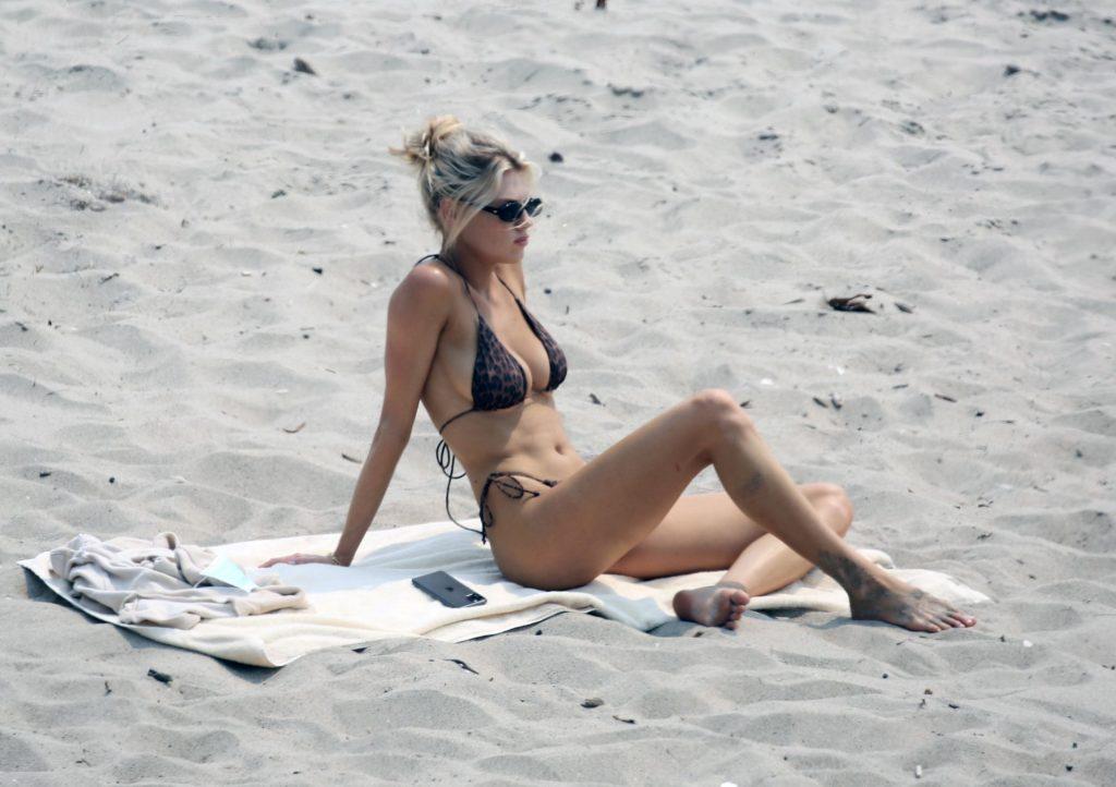 Charlotte McKinney Flaunts Her Sexy Body on the Beach in Malibu (10 Photos)