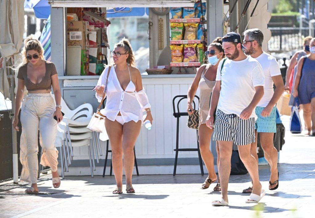 Chloe Ferry & Bethan Kershaw are Spotted on Holiday in Marbella (55 Photos)