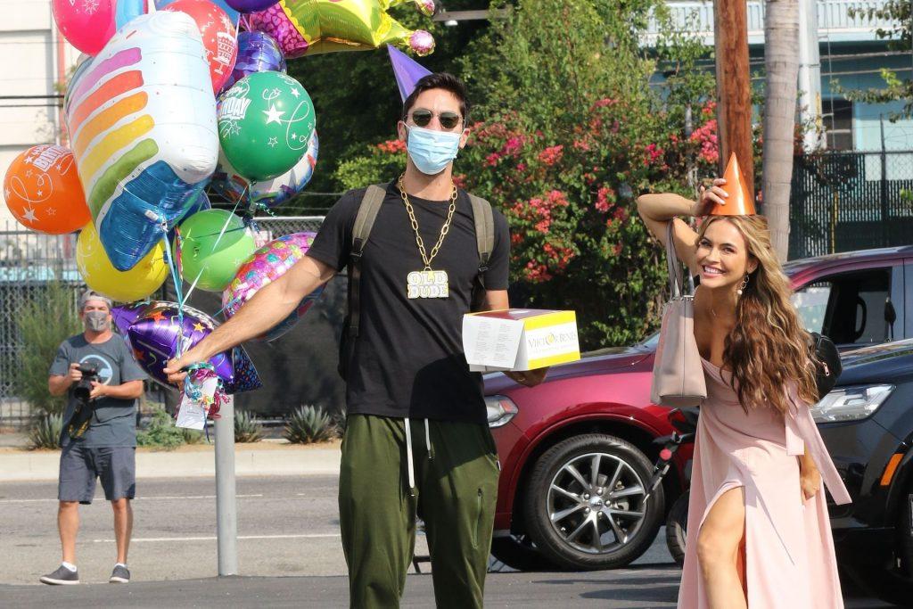 Chrishell Stause Photobombs Nev Schulman on His Birthday (108 Photos)