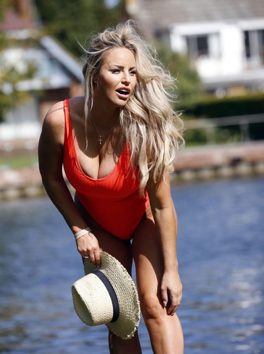 Danielle Mason Enjoys the Beautiful Sunshine in Swimsuits (58 Photos)