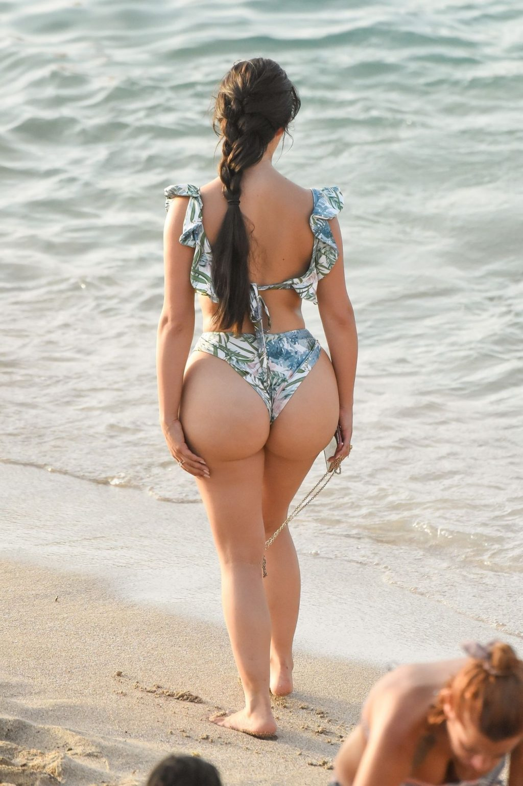 Demi Rose Flaunts her Curves on the Beach During the Ibiza Sunset (15 Photos)