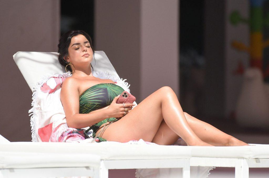 Sexy Demi Rose Enjoys a Day in Ibiza (17 Photos)