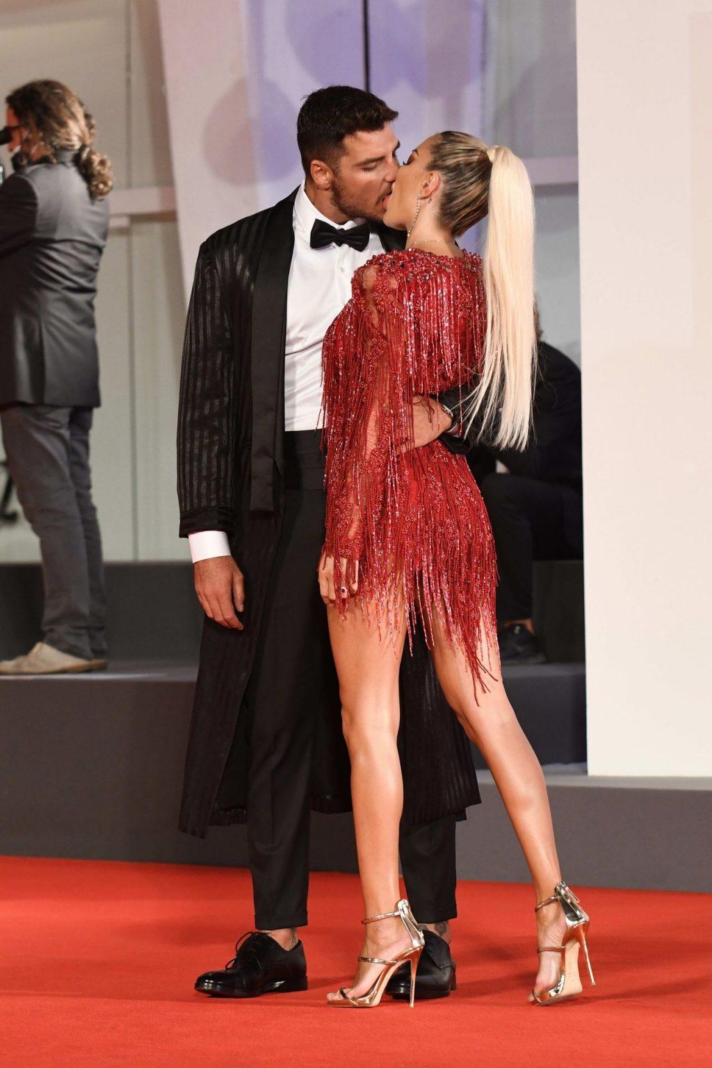 Elena Morali Flaunts Her Sexy Legs at the 77th Venice Film Festival (67 Photos)