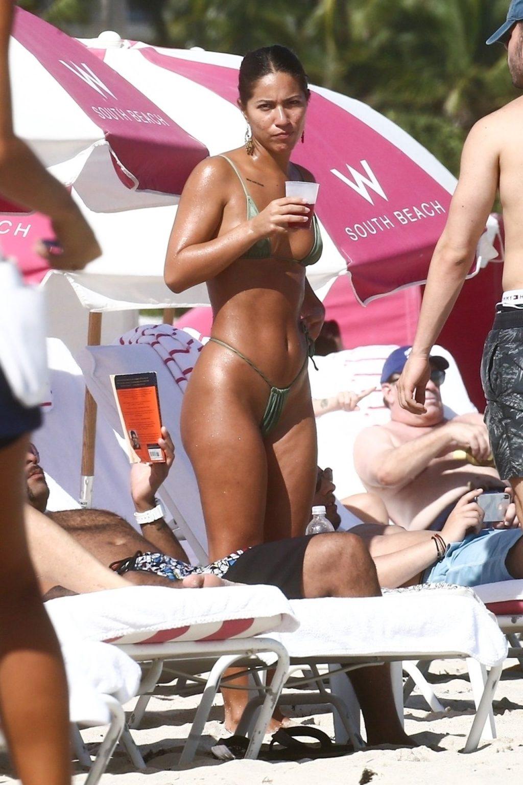 Erika Wheaton Shows Her Sexy Bikini Body on the Beach (21 Photos)