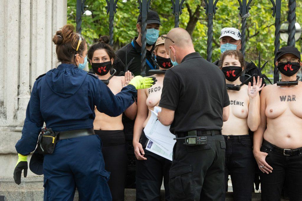 Extinction Rebellion Parliament Protest (30 Nude Photos)