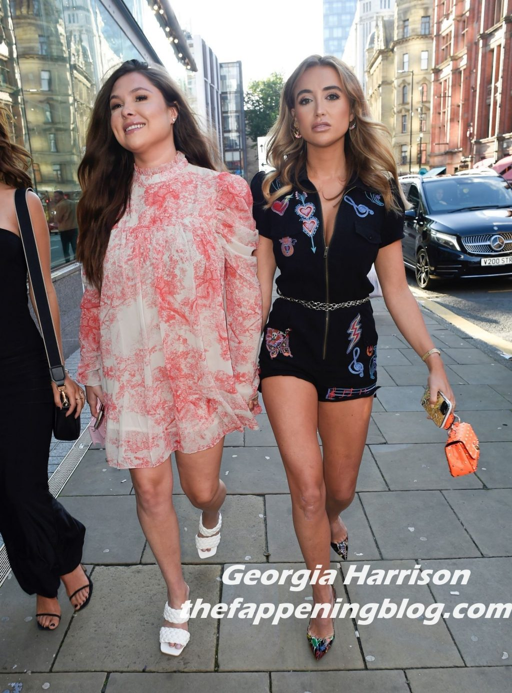 Georgia Harrison Flashes New Boobs in Manchester (79 Photos)