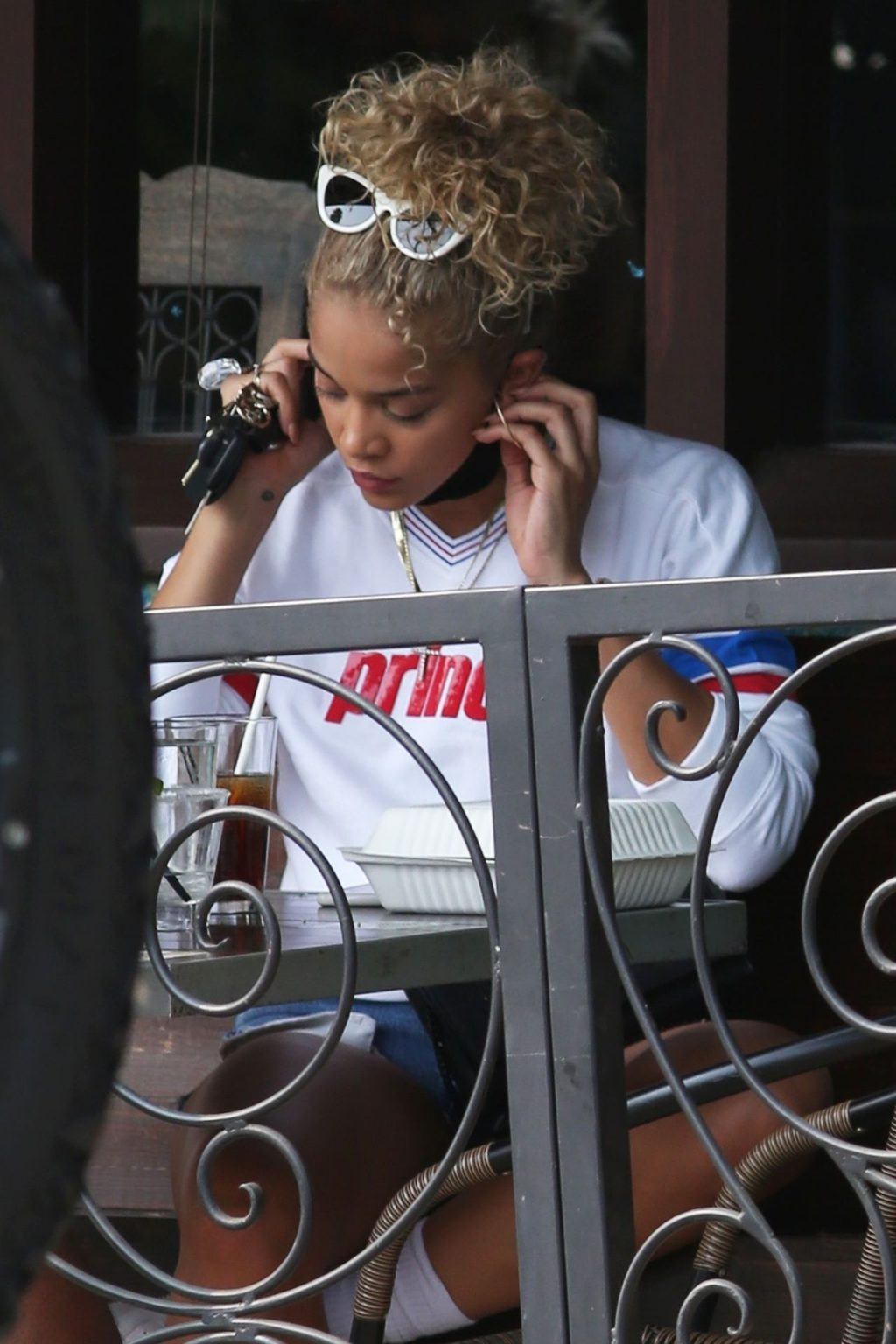 Jasmine Sanders Celebrates with a Shot of Tequila in Sherman Oaks (39 Photos)