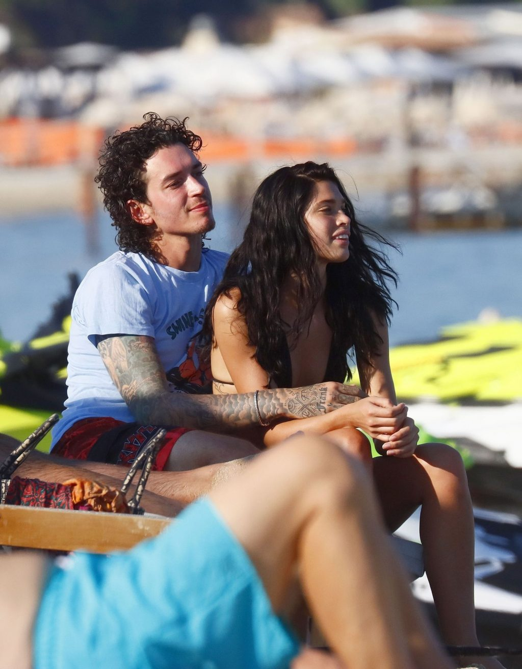 Julian Perretta Enjoys a Day with His New Girlfriend in the South of France (55 Photos)