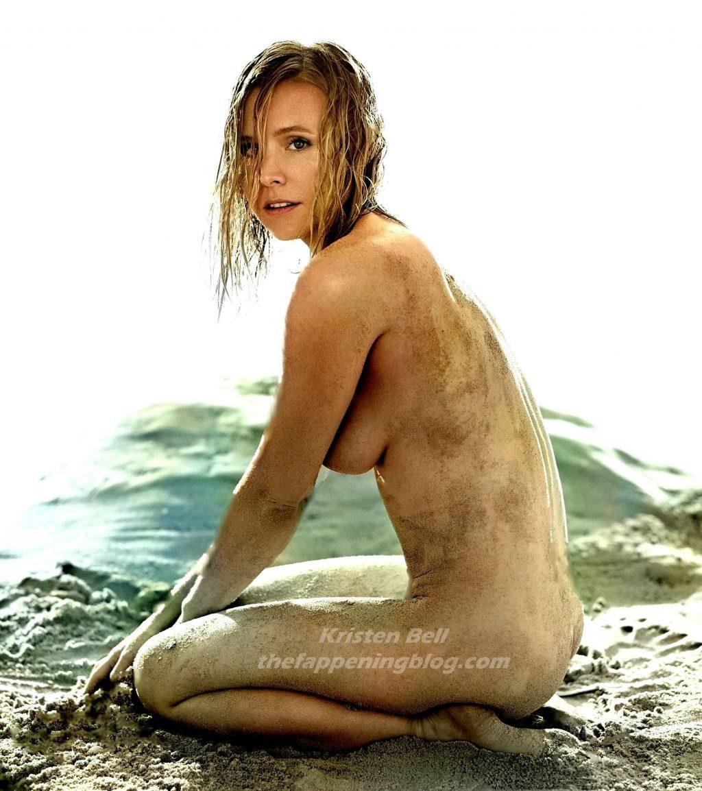 Kristen Bell Nude – Allure (1 Photo)