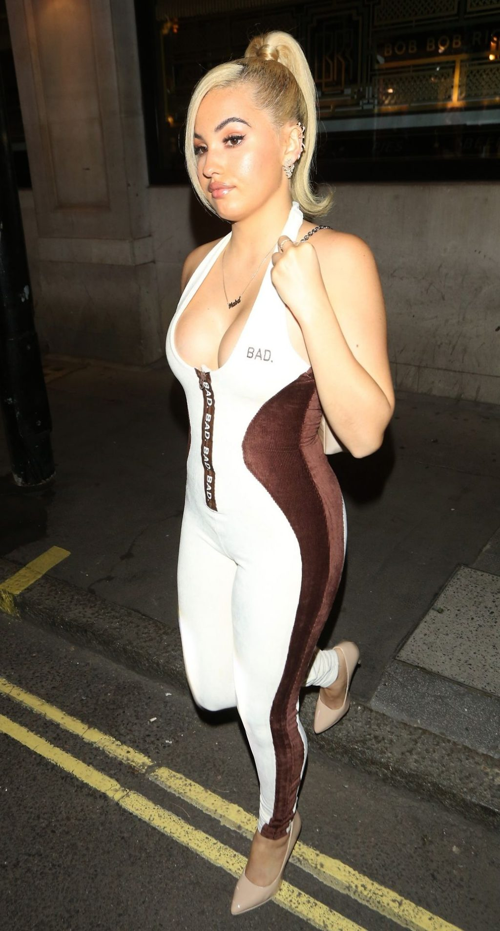 Mabel Is Pictured at Bob Bob Ricard (67 Photos)