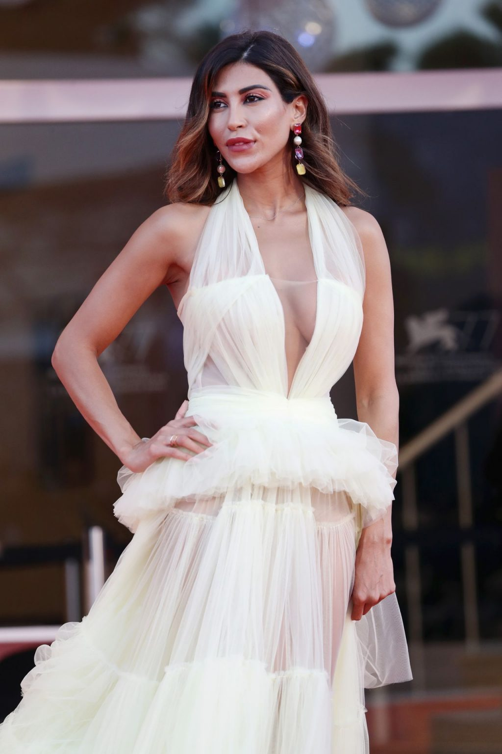 Mila Suarez Flaunts Her Tits and Underwear on the Red Carpet (14 Photos)