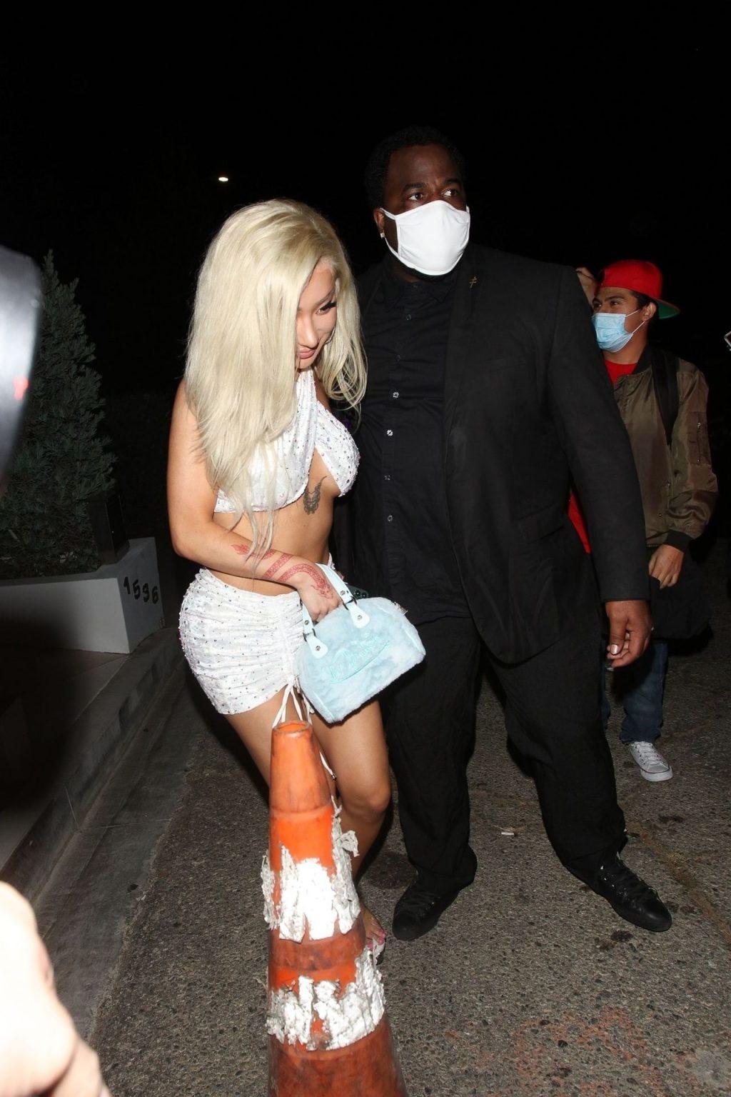 Nikita Dragun Shows Off Her Figure as She Exits a Party (26 Photos)