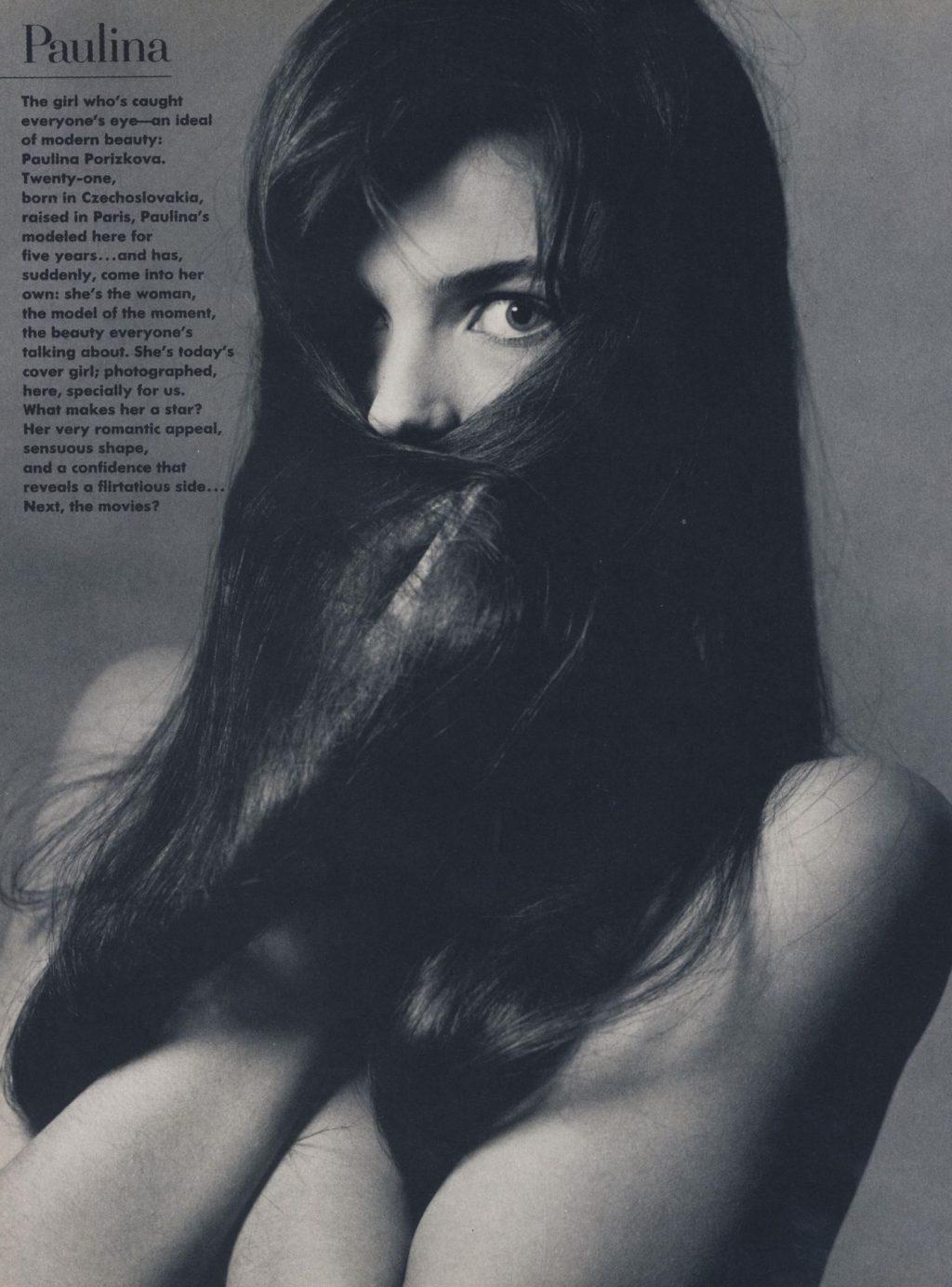 Paulina Porizkova Nude (3 Photos)