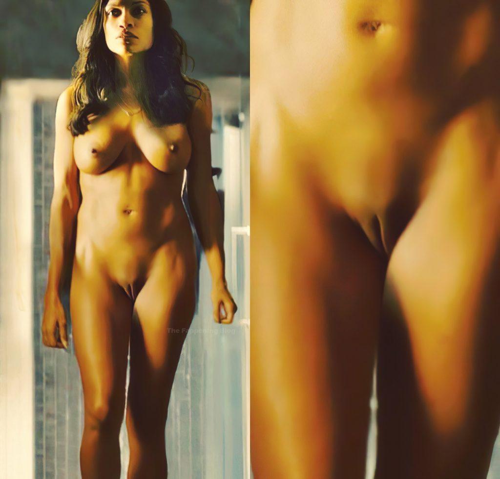 Rosario Dawson Nude – Trance (1 Collage Photo)