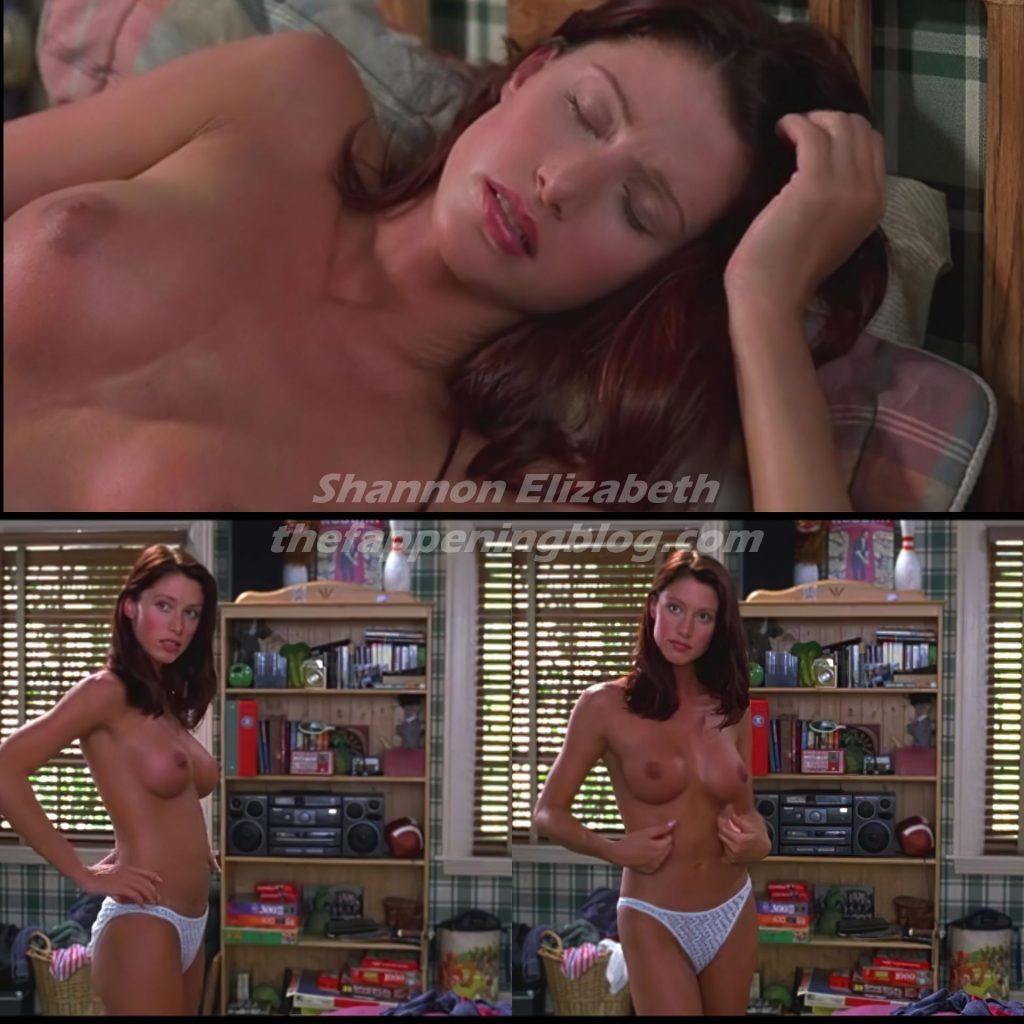 Shannon Elizabeth Nude (1 Collage Photo)