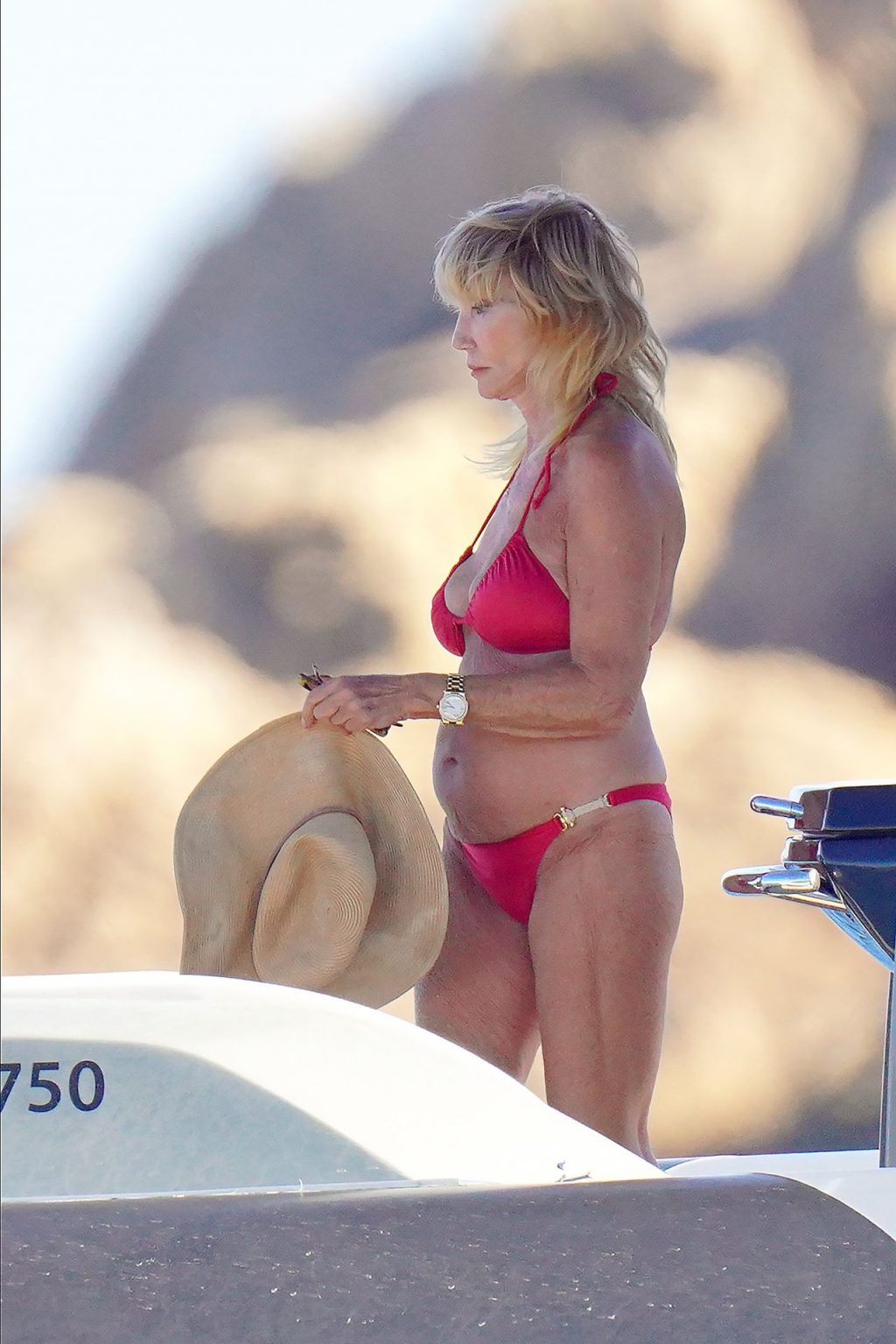 Susie Vanner Looks Amazing in a Red Bikini (49 Photos)