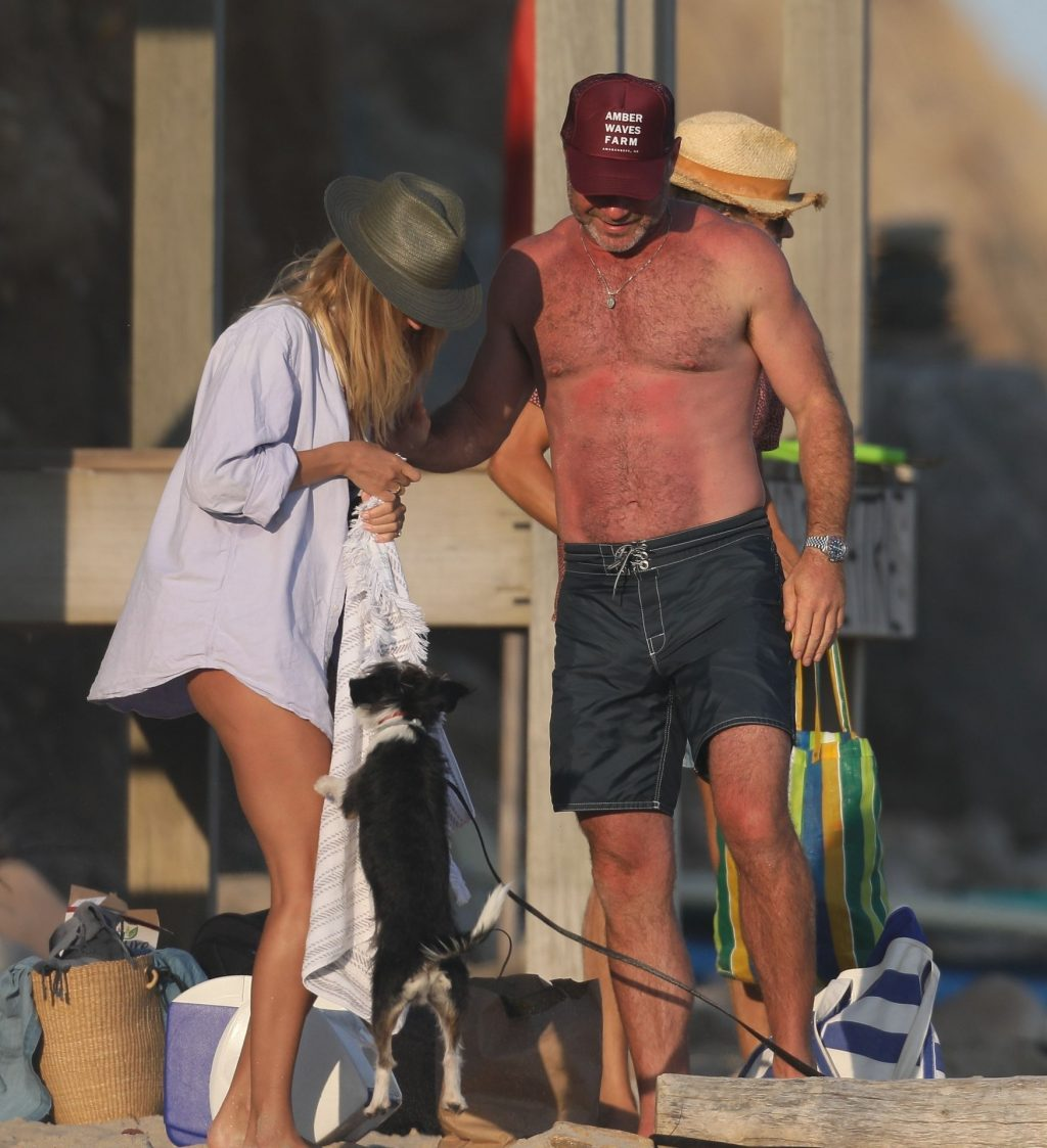 Taylor Neisen Enjoys Labor Day with Liev Schreiber in The Hamptons (15 Photos)