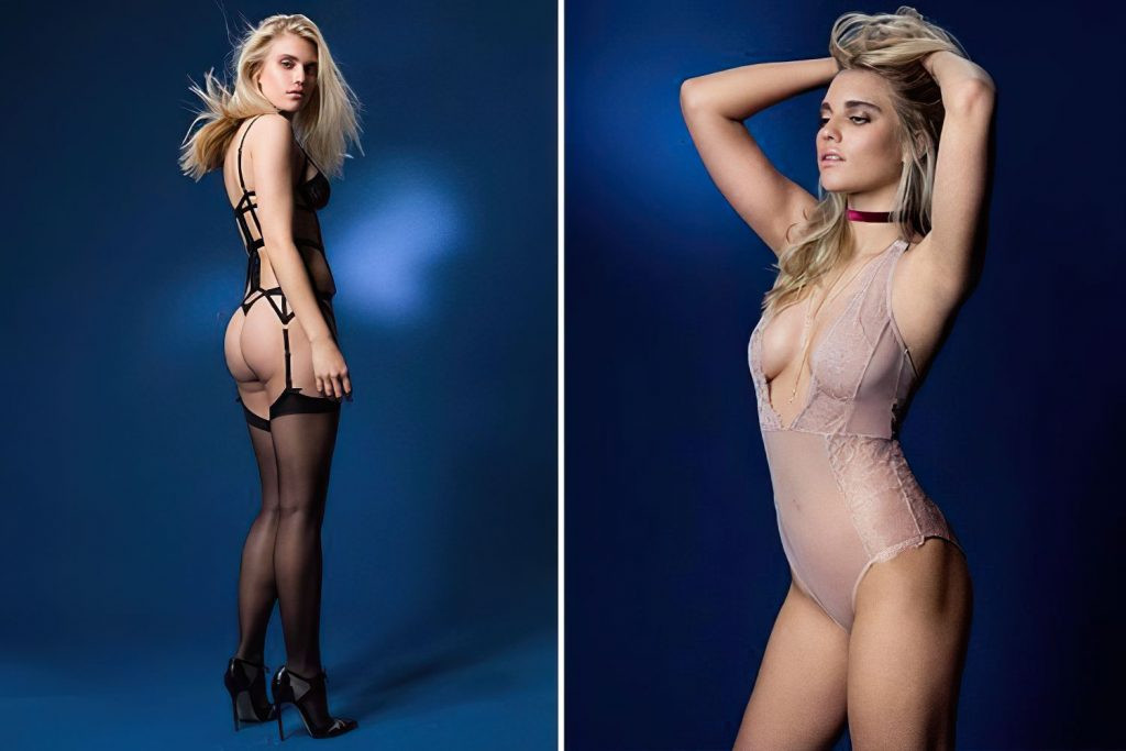 Tigerlily Taylor Sexy (1 Collage Photo)