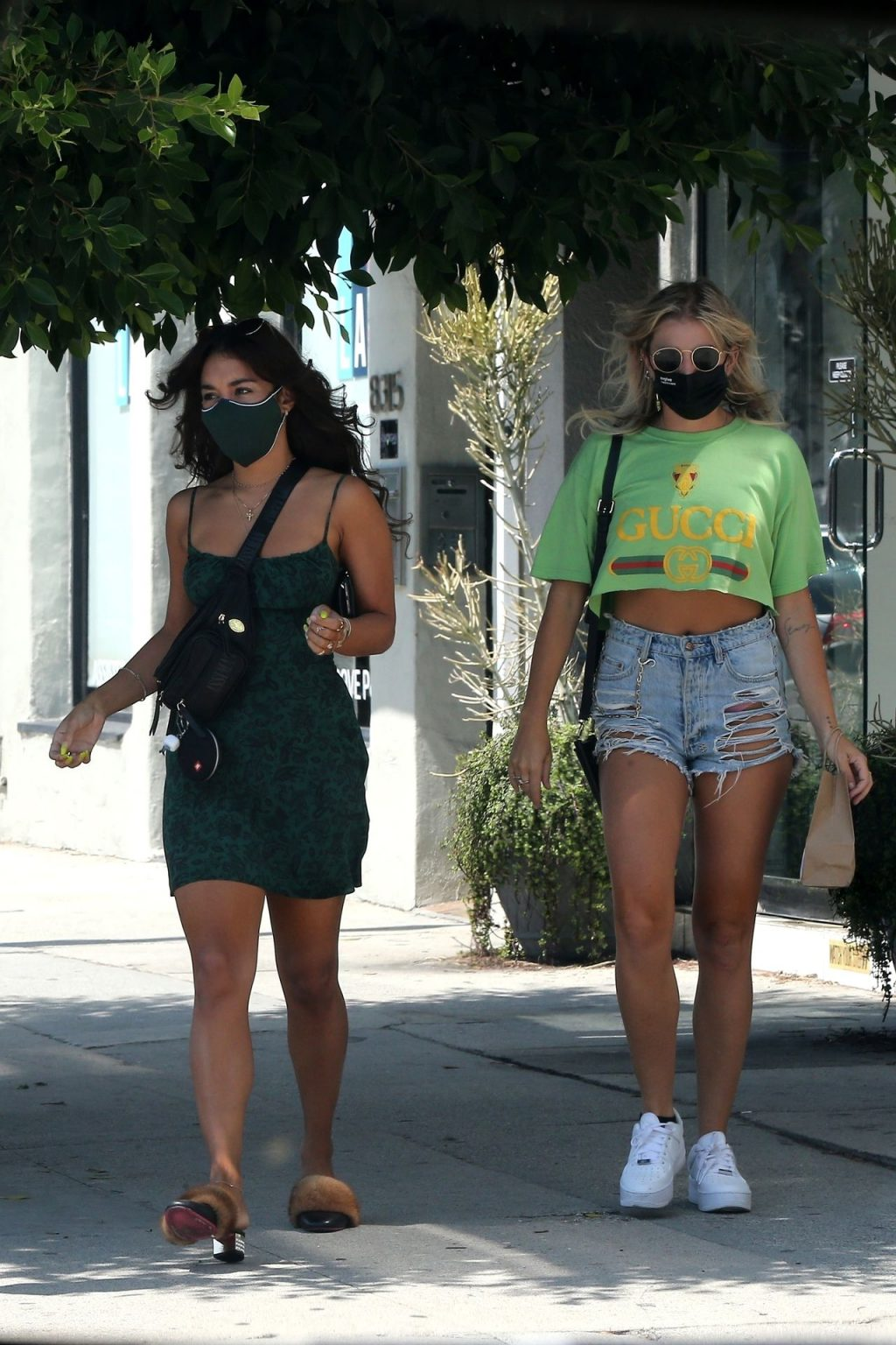 Vanessa Hudgens & GG Magree Make Their Last Shopping Trip at The Green Easy (66 Photos)