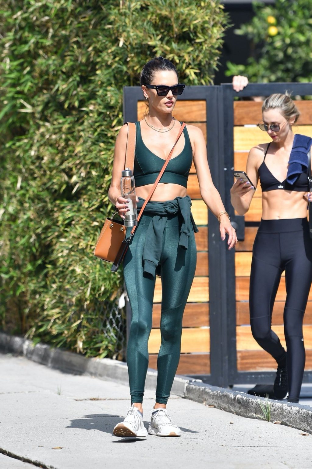 Alessandra Ambrosio Wraps Up Another Workout Session (71 Photos)