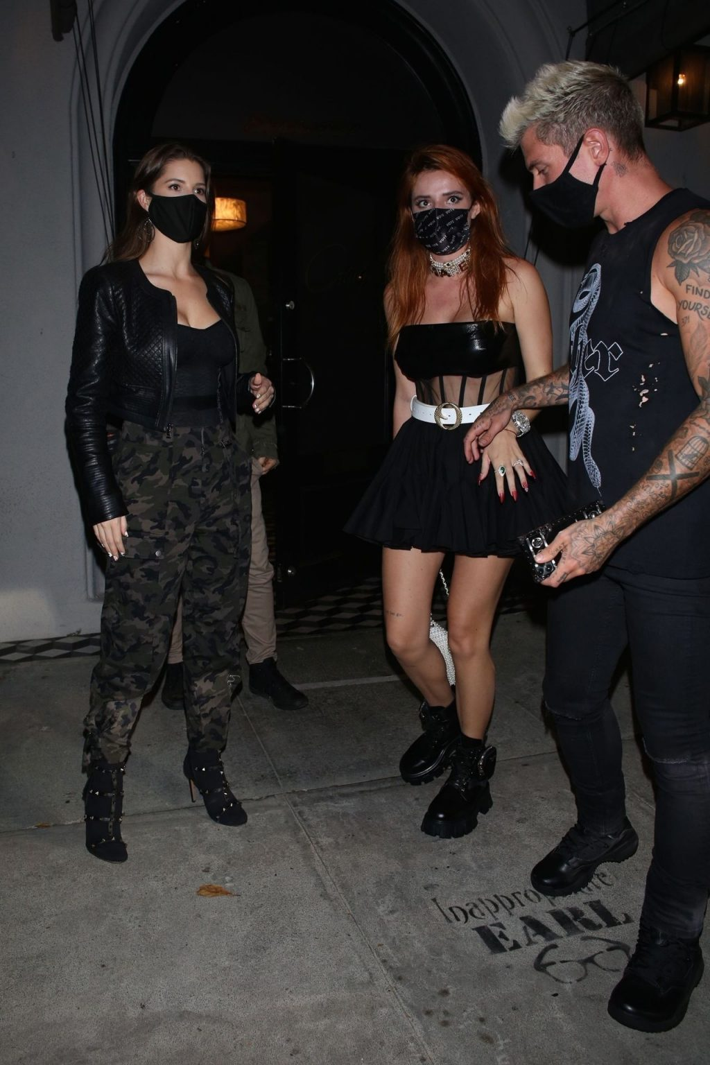 Bella Thorne & Benjamin Mascolo Dine out at Craig's (58 Photos)