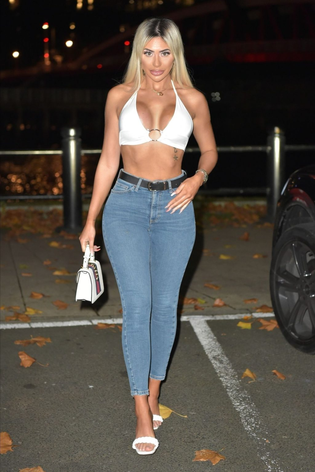 Chloe Ferry Hits the Toon as She Enjoys a Night Out with a Friend (34 Photos)