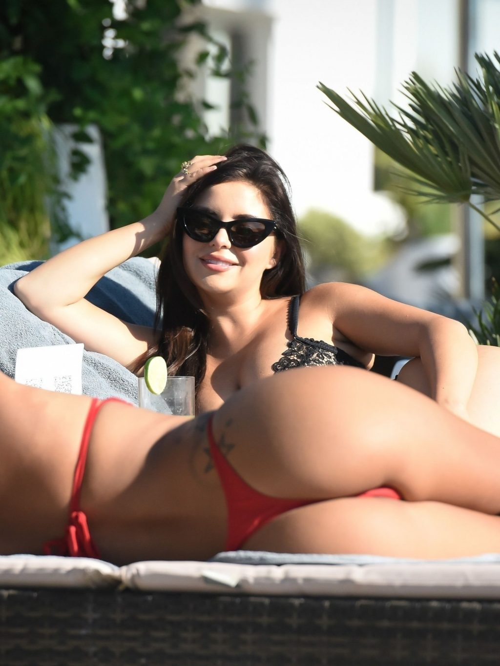 Demi Rose Relaxes Poolside on Holiday in Ibiza (10 Photos)