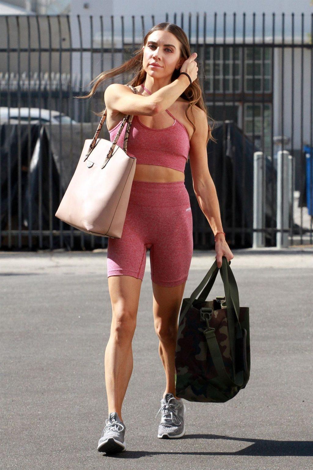 Jenna Johnson is Seen at the Dance Studio (33 Photos)